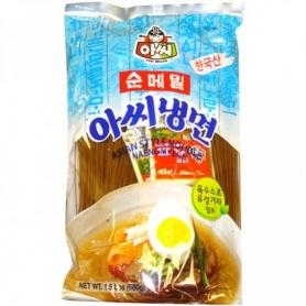 아씨 순메밀 냉면 680g (육수스프/유성겨자 포함)