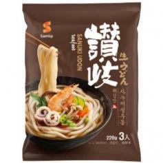 삼립 사누끼 우동 660g (220gx3) 해물맛 3인분