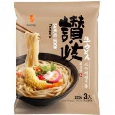삼립 사누끼 우동 660g (220gx3) 튀김맛 3인분