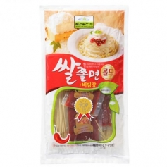 칠갑 쌀쫄면 600g 3-4인분 비빔장포함