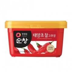 청정원 순창 100% 현미 태양초 찰고추장 1kg