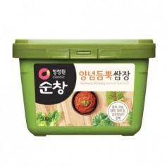 청정원 순창 양념듬뿍 쌈장 500g