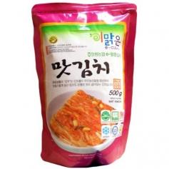 한국산 천연재료 화원농협 이맑은 맛김치 500g