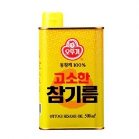 오뚜기 고소한 참기름 500ml