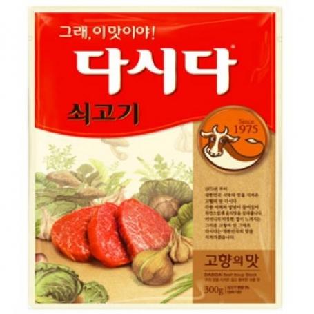 CJ 백설 쇠고기맛 다시다 1kg