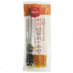 하선정 치자 단무지와 우엉 220g 한국산