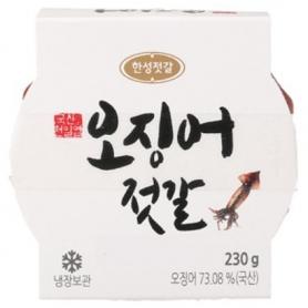 한성 오징어젓 230g (한국산 오징어)