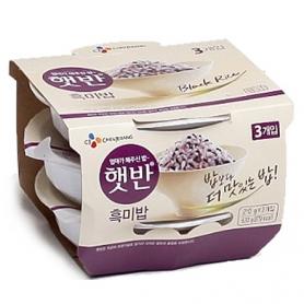 CJ 햇반 흑미밥 210gx3