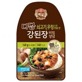 백설 다담 우렁 강된장 비빔양념 140g
