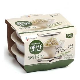 CJ 햇반 발아현미밥 210gx3