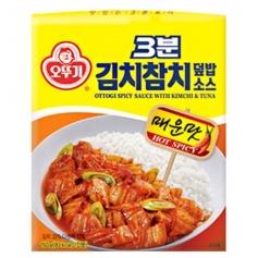 오뚜기 3분 김치참치덮밥소스 150g