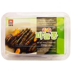 해태 양념 마늘쫑 200g 한국산