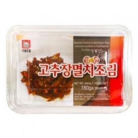 해태 양념 고추장멸치조림 180g 한국산