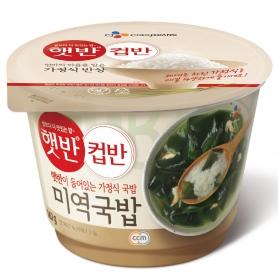 햇반 컵반 미역국밥 165g