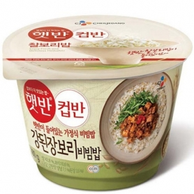 햇반 컵반 강된장보리비빔밥 280g