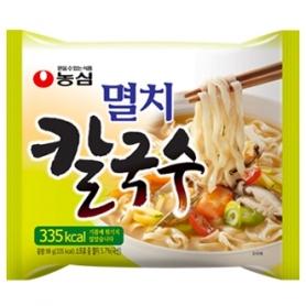 농심 멸치칼국수 98g 내수용