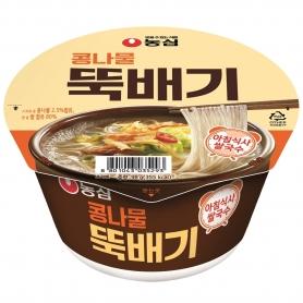 농심 콩나물 뚝배기 98g 내수용